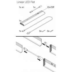 Osram Linear LED Flat ECO 830 3000K