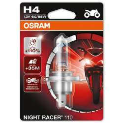 Osram Night Racer +110% 12V H4 60W/55W 1KS