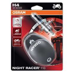 Osram Night Racer +110% 12V H4 60W/55W 2KS
