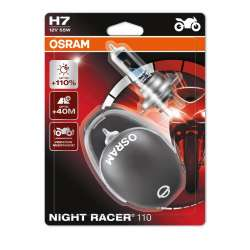 Osram Night Racer +110% 12V H7 55W 2KS