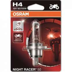 OSRAM NIGHT RACER 50 H4 60W/55W +50% 1KS