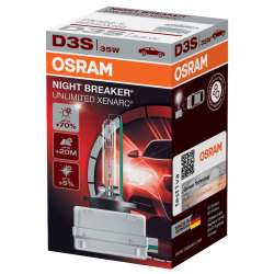 Osram xenonová výbojka D3S XENARC NIGHT BREAKER UNLIMITED