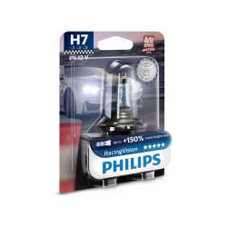 Philips 12V H7 55W PX26d RacingVision +150% 1ks