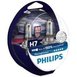 Philips 12V H7 55W PX26d RacingVision +150% Box