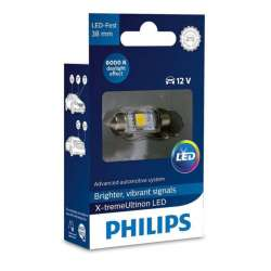 PHILIPS C5W X-tremeVision 12V 1W LED 6000K - 38mm