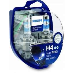 Philips RacingVision H4 GT200 +200% 12342RGTS2 BOX 2ks