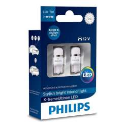 PHILIPS W5W 12V 1W  X-tremeVision LED 6000K