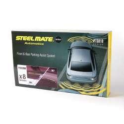 Parkovací asistent Steelmate PTS810M7M8 BTI SILVER