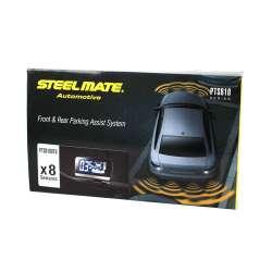 Parkovací asistent Steelmate PTS810V10 BTI SILVER