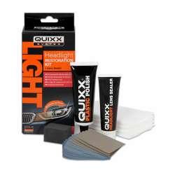 Quixx-Súprava na obnovu svetlometov 50g a 30ml