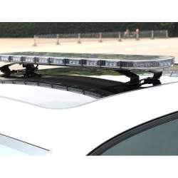 LED rampa SKY AIR 97 cm, 12-24V, R65, oranžová, transparentný kryt, SKY38-AT