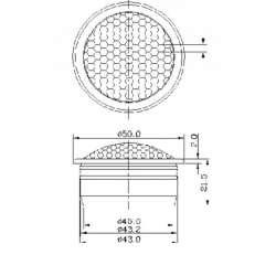 STEG ST650C komponentné 16,5 cm reproduktory
