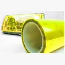 Ochranná fólia - svetlo žltá