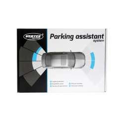 VERTEX 4-senzorové parkovacie senzory s kamerou a LCD monitorom