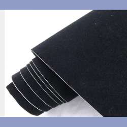 Zamatová fólia 100cm x 135cm čierna